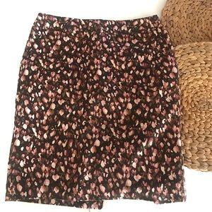 Merona watercolor pencil skirt